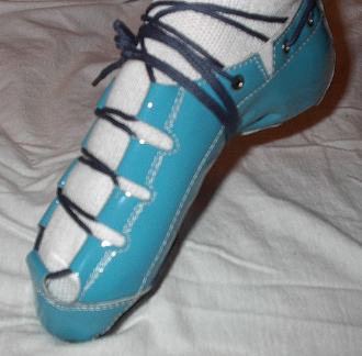 Celtic Choice Patent Leather Teal