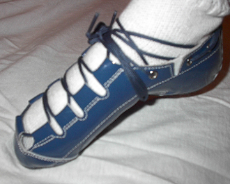 Celtic Choice Patent Leather Blue