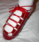 Celtic Choice Patent Leather Red