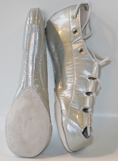 Celtic Choice Patent Leather Silver